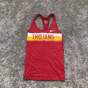 USC Nike Trojans Tank Xs